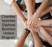 Hands together, Chamber launches Daytona Business United Program