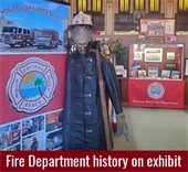 Fire department exhibit at Halifax Historical Museum