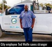 Daytona Beach city employee Ted Wolfe