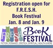 Registration open for F.R.E.S.H. Book Festival Jan. 8 and Jan. 9