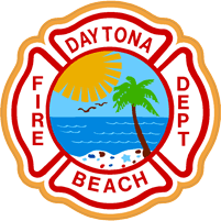 Daytona Beach Fire Dept logo