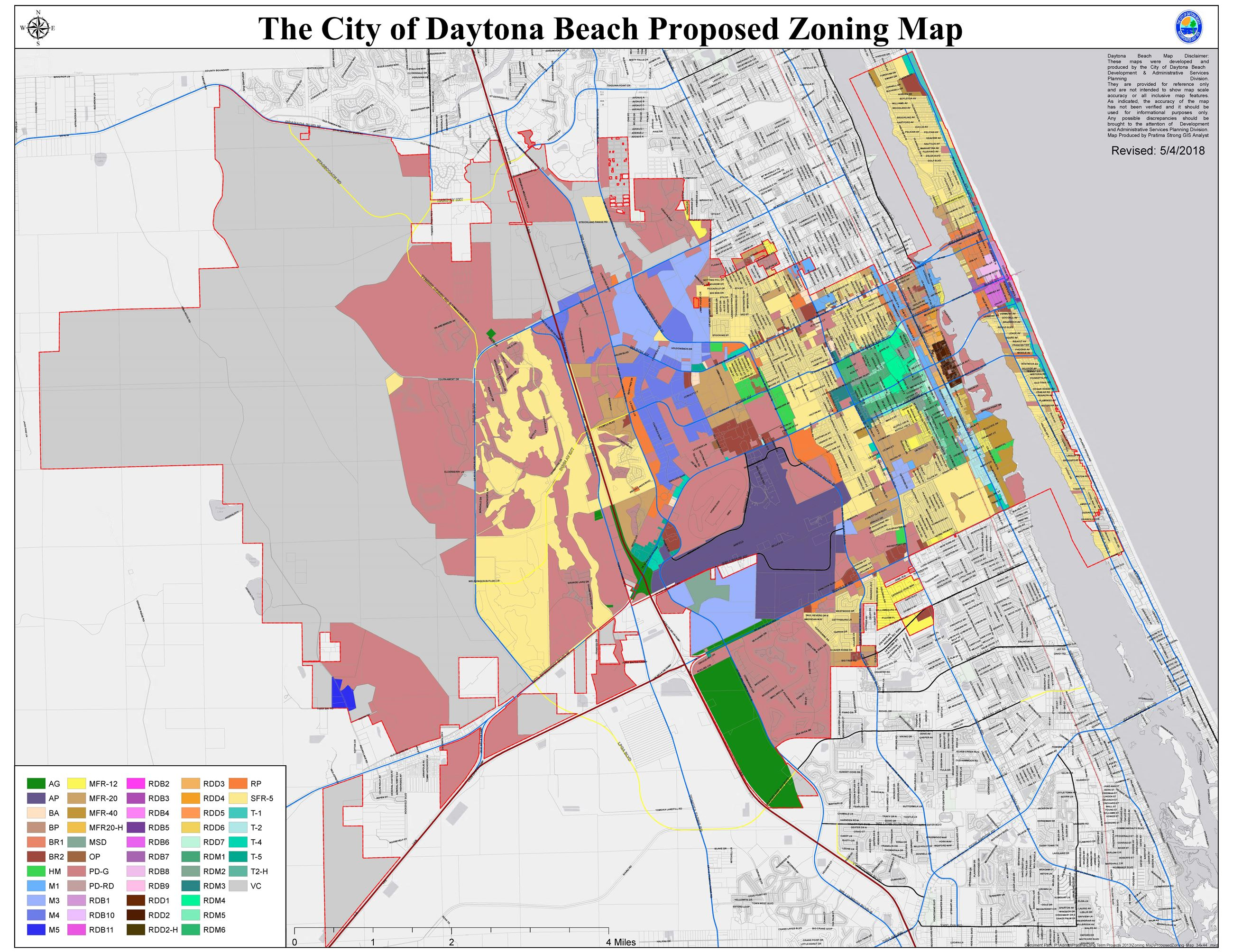 Proposed Zoning Map 34x44 050418