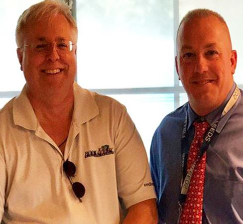 image of radio host Marc Bernier and Police Chief Craig