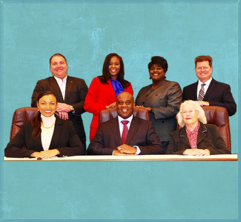 Daytona Beach City Commissioners at diaz