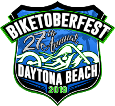 Official logo for 27th annual Biketoberfest