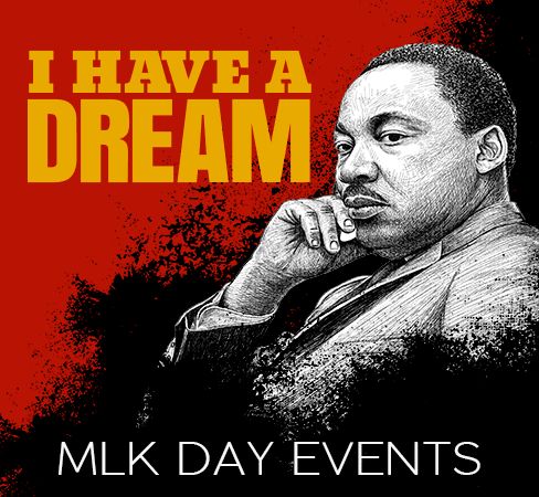 MLK DAY EVENTS graphic