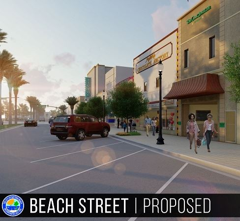 Beach Street Streetscape Highlight