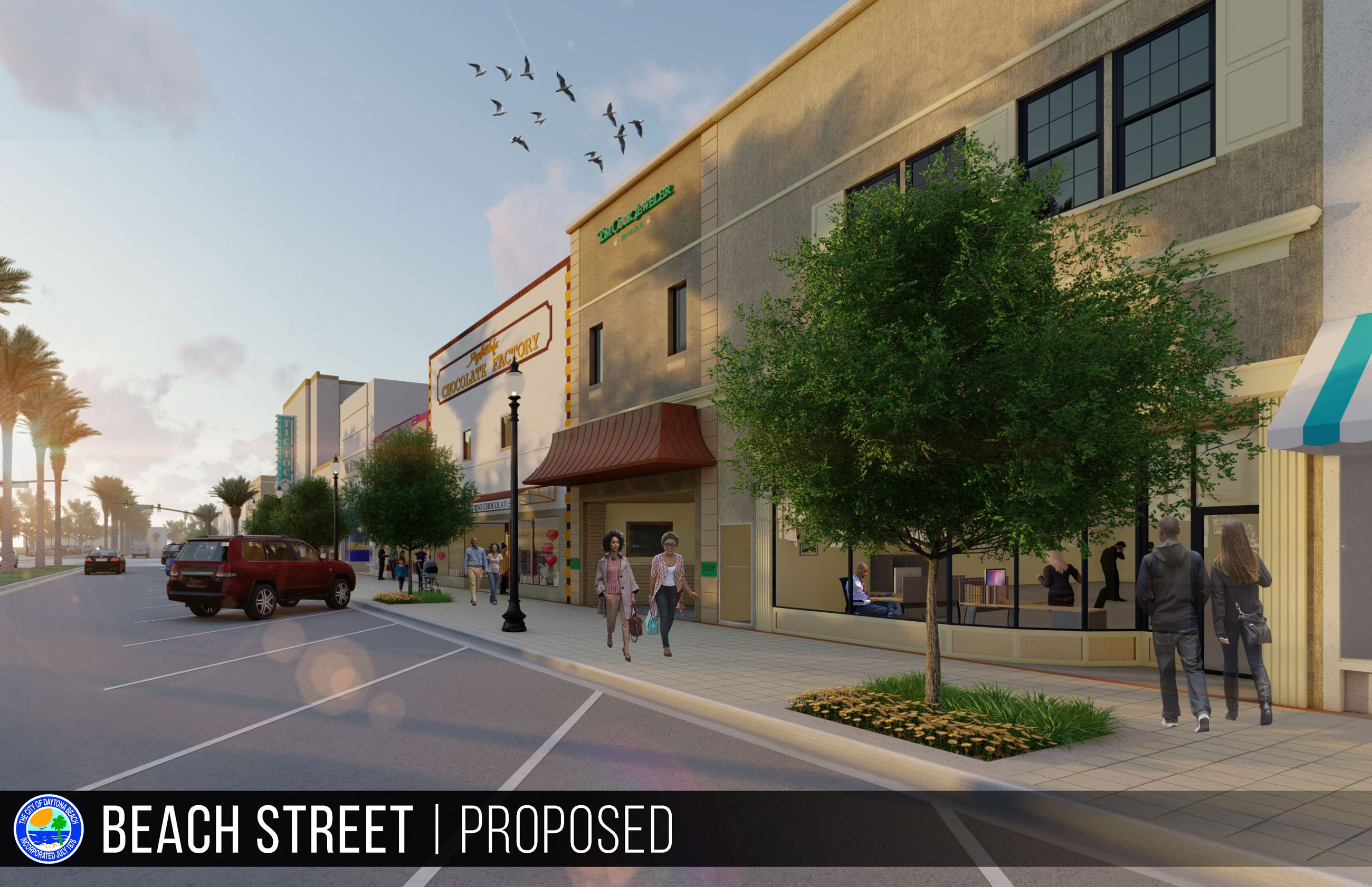 Beach Street Proposed