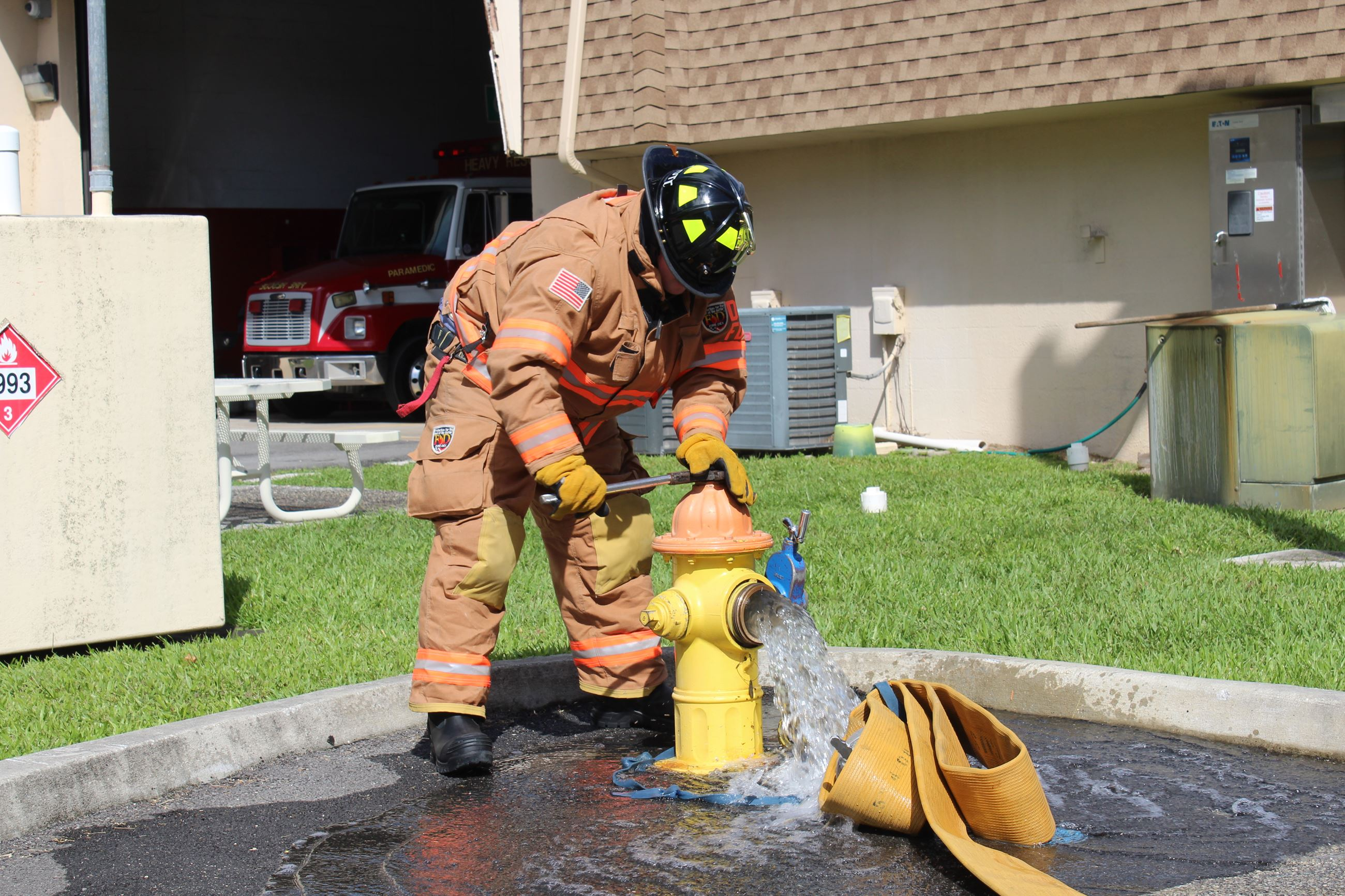 Daytona Beach Firefighter Training