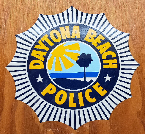 old dbpd logo wood