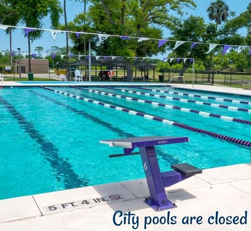 City pools closed
