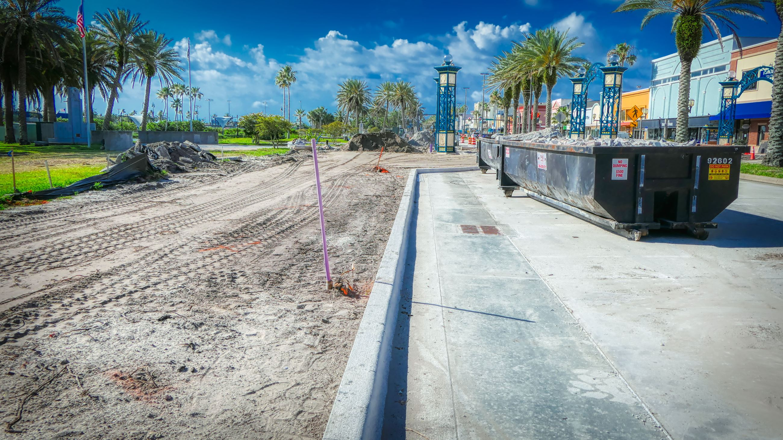 Beach Street Streetscape - May 2020