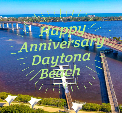 Happy Anniversary Daytona Beach