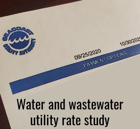Web_Water and wastewater utility rate study