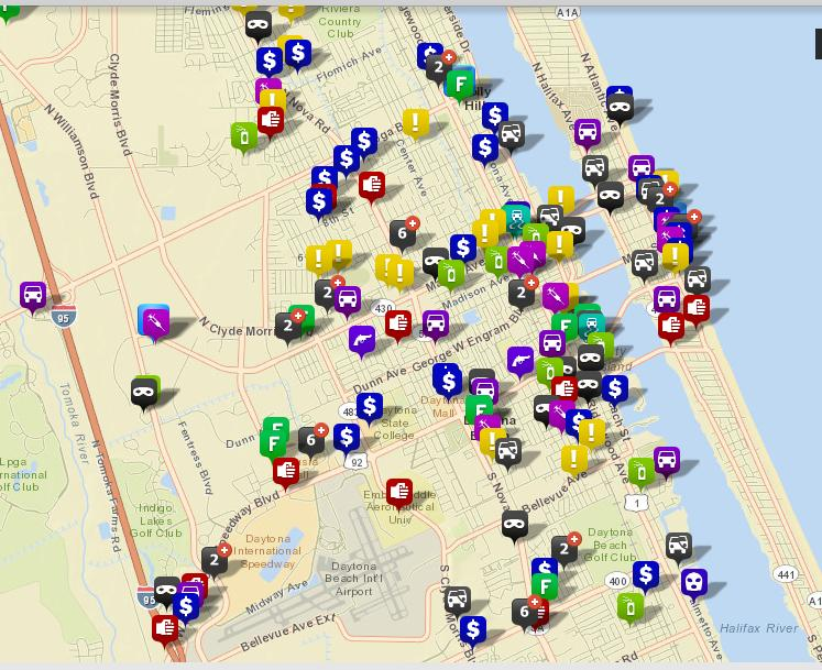 Daytona Beach, FL   Official Website   Crime Maps