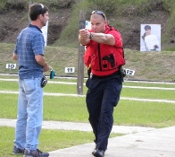 Citizen Academy participants learns about service weapons at shooting range
